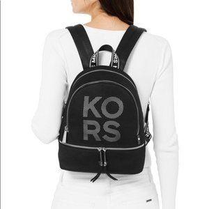 Michael Kors Backpack School Medium ZIP Logo